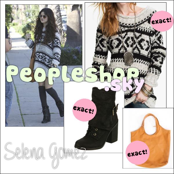 Selena Gomez shop.