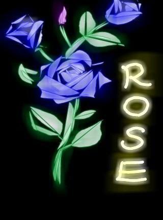 Rose dessin 3