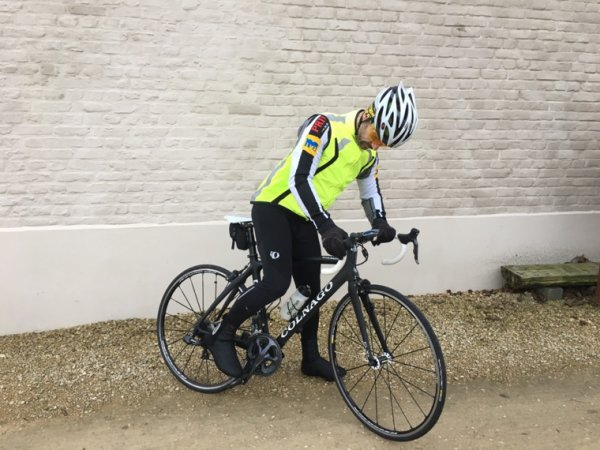 Samedi 25 février 2017. Première sortie vélo