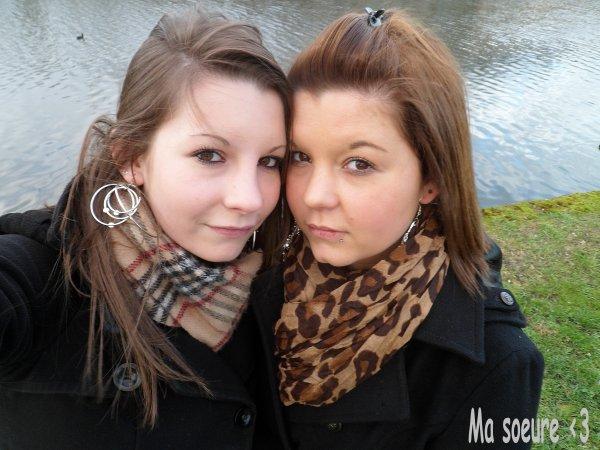 L'amour d'une soeur, c'est bien plus fort que n'importe quoi & croi moi que pour elle j'serais prete a perdre la vie ..♥