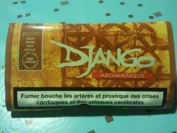 """J'ai acheté du tabac à rouler """"Django"""" :D"""