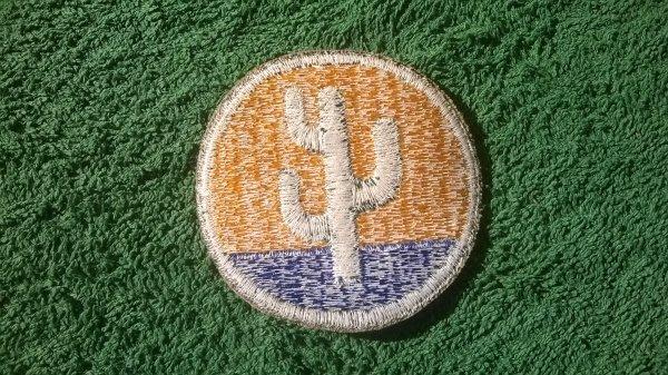 Patch de la 103 th infantry division