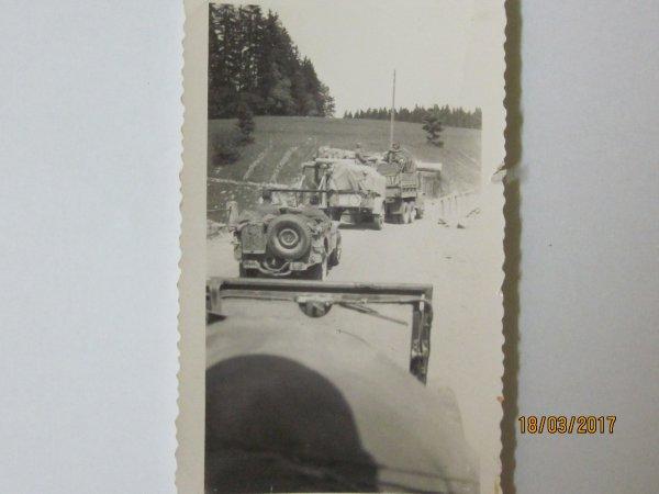Photo d'un convoi US WW2