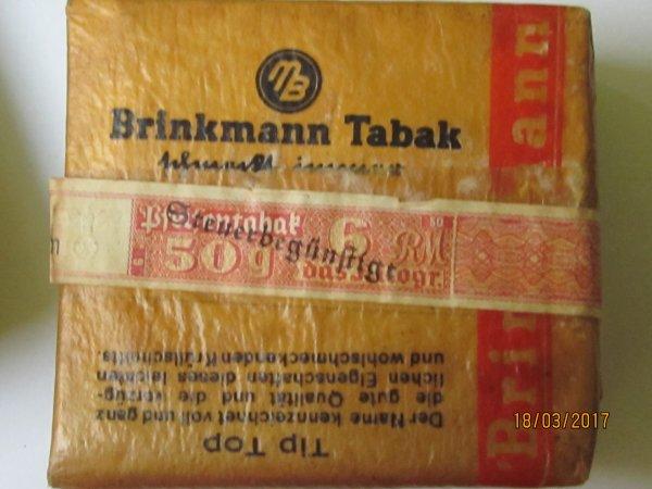 Paquets de tabac Allemand ww2