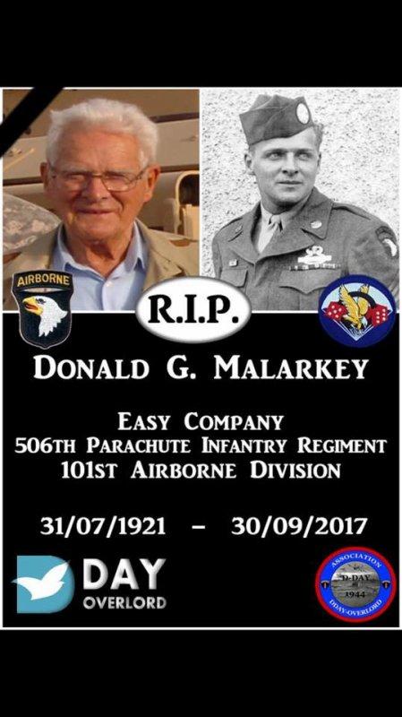 R.I.P Sir Don Malarkey