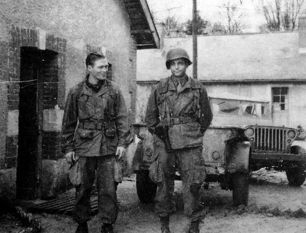 Photo Bataille des Ardennes Décembre 44