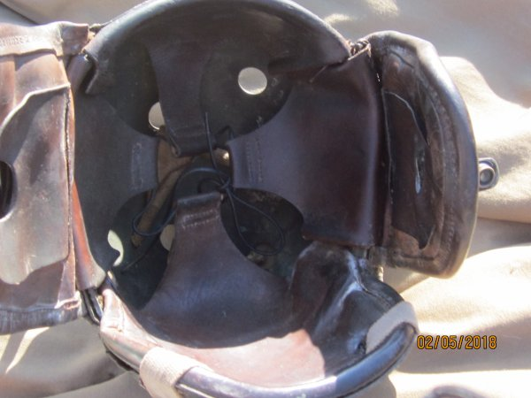 Suite casque Tankiste US WW2