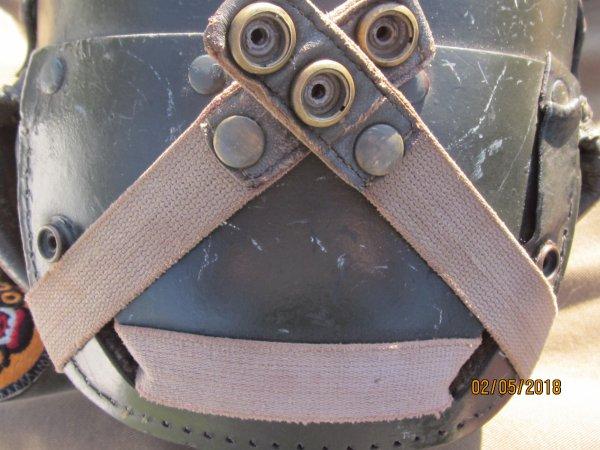 Suite casque Tankiste US WW2