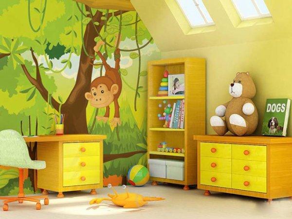 Top 10 Eco Fashion Hand Painted Nursery Wall Paintings