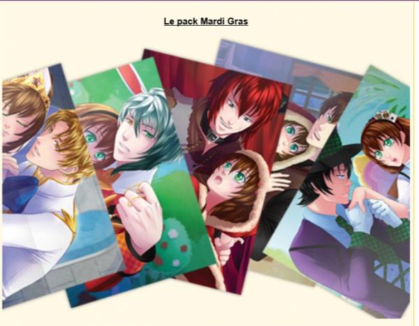 Amour Sucré pack posters