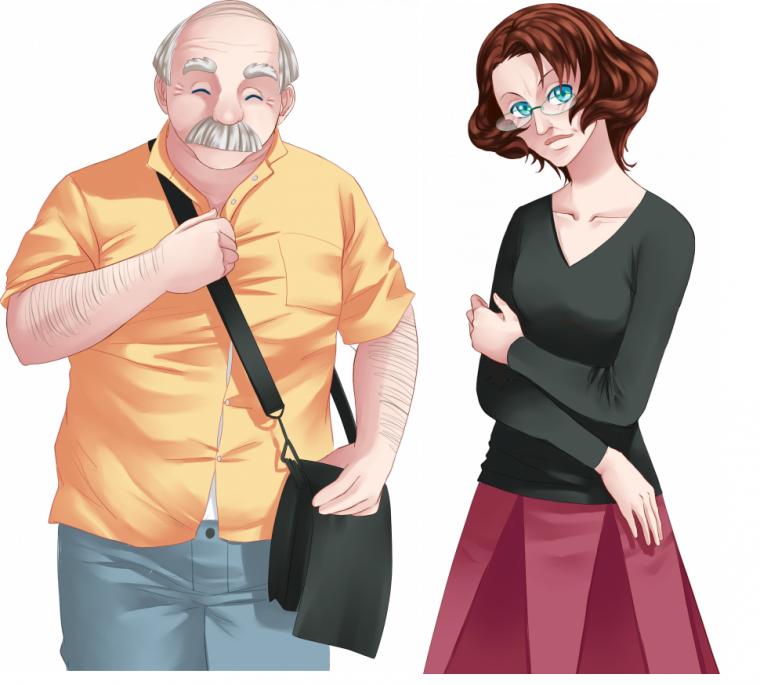 Personnage : Les parents