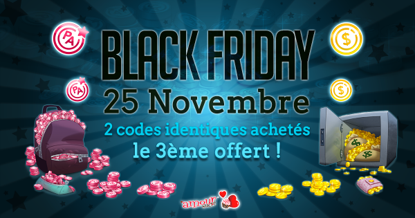 Amour Sucré Black week-end !