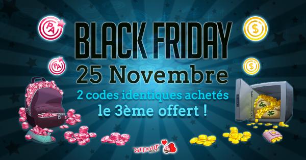 Amour Sucré Black week-end !