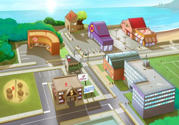 Nouveau plan de la ville