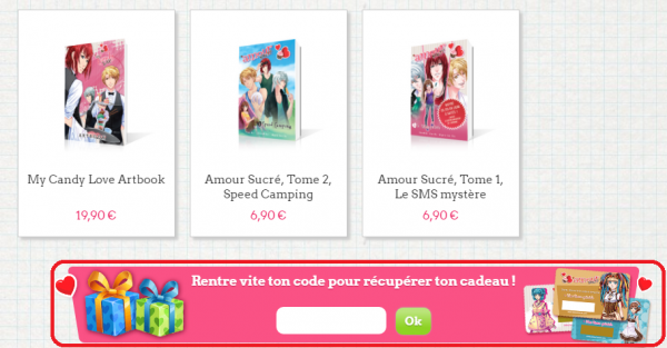 Page des Goodies