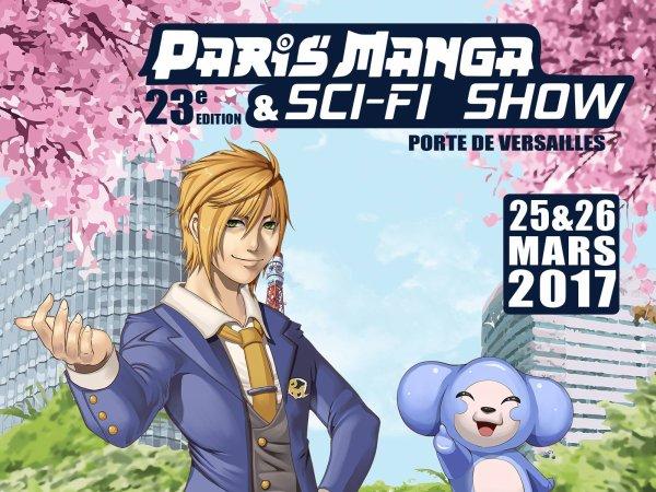 Amour Sucré à la Paris-Mangas 2017