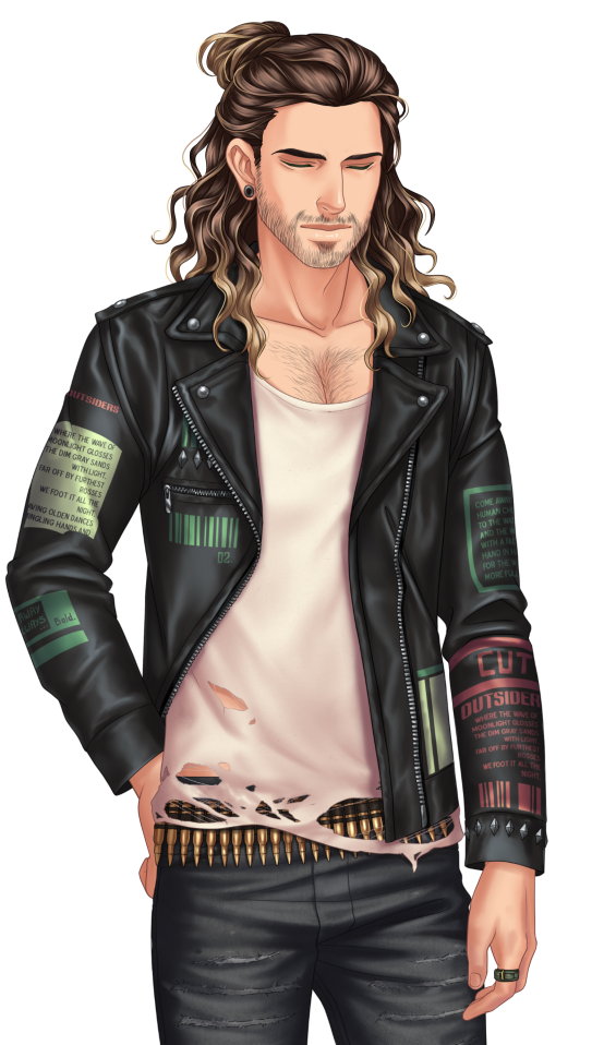Personnage : Zackary