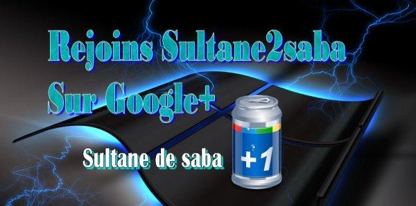 PAGE GOOGLE+ DE SULTANE2SABA