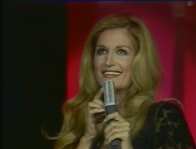 photo de dalida sur scene