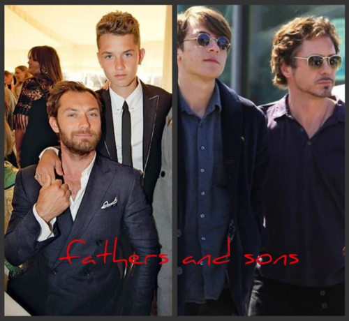 Fathers and Sons (RDJ & Jude Law) ;)