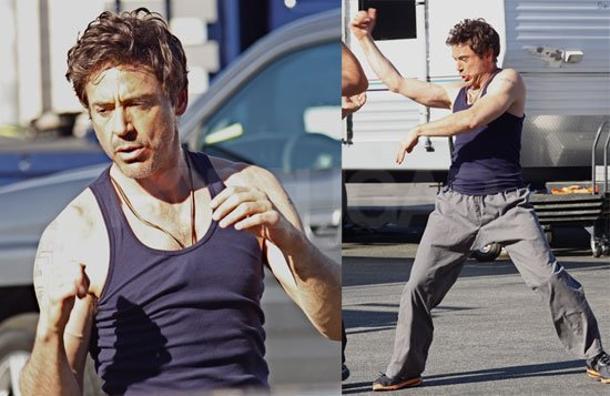 RDJ a fighter man ;)