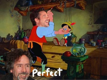 J'espère vraiment le voir dans Pinocchio! <3