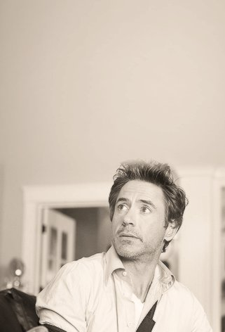 RDJ you know, you're the most handsome man in the world?! <3