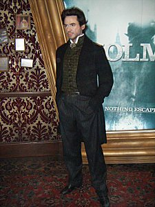 Youpii Sherlock in Madame Tussaud! ;)