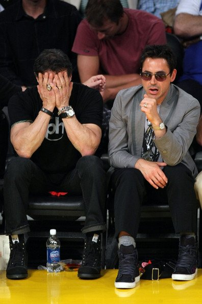 RDJ and Stallone ;)