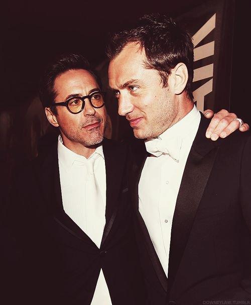 RDJ & Jude Law <3