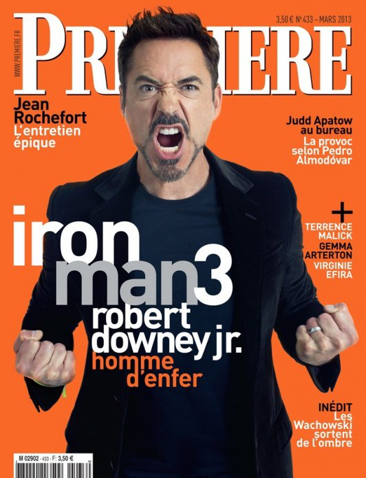 Robert en couverture Mercredi! ;P
