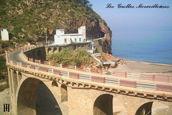 corniche jijelienne, les grottes merveilleuses