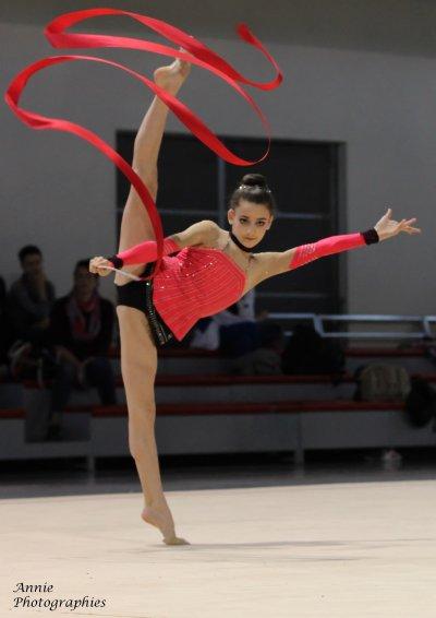 Danaé Collard, médaille de bronze des Espoirs 2