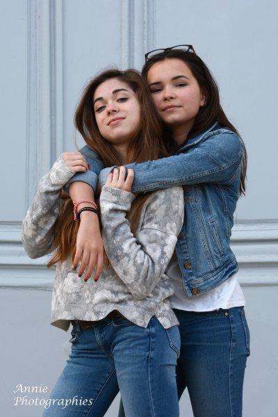 Petit shooting entre amies ... Lilia et Lauriane !