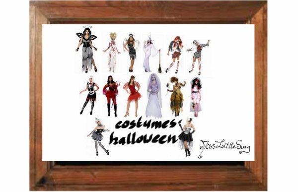 Petites Idées De Costumes Pour Halloween