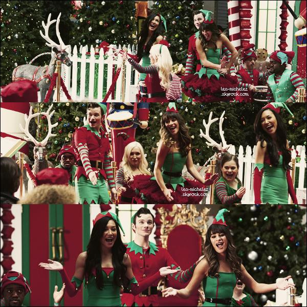 •Le 2 décembre 2013: Lea et le cast de Spring Awakening ont été vus à une réunion d'anniversaire.