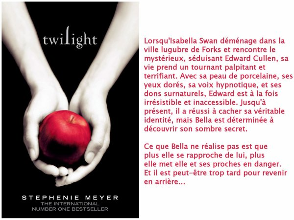 Twilight/Fascination, Stephenie Meyer