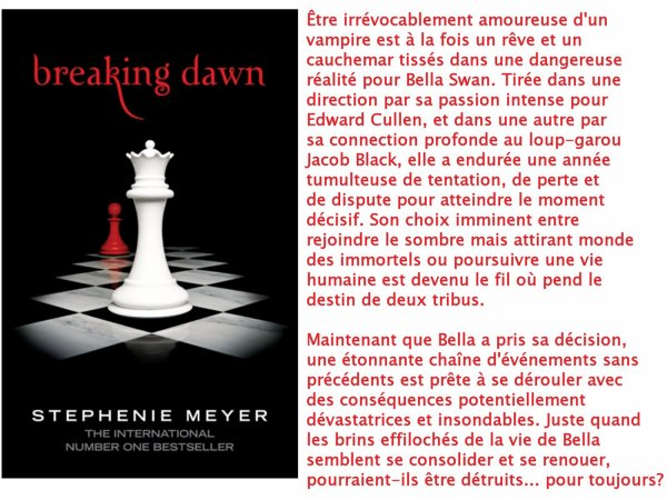Breaking Dawn/Révélation, Stephenie Meyer