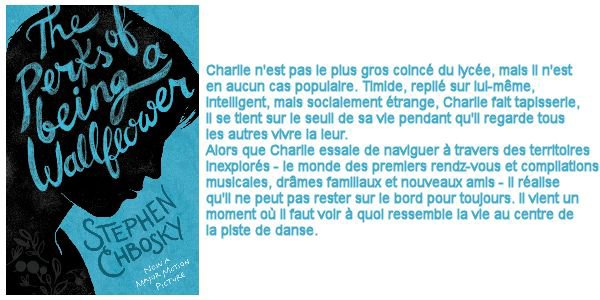 The Perks of Being a Wallflower/Le monde de Charlie, Stephen Chbosbky