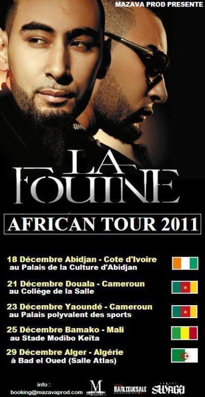 AFRICAN TOUR 2011