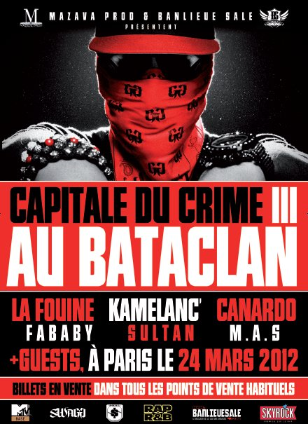 CAPITALE DU CRIME 3 TOUR A PARIS