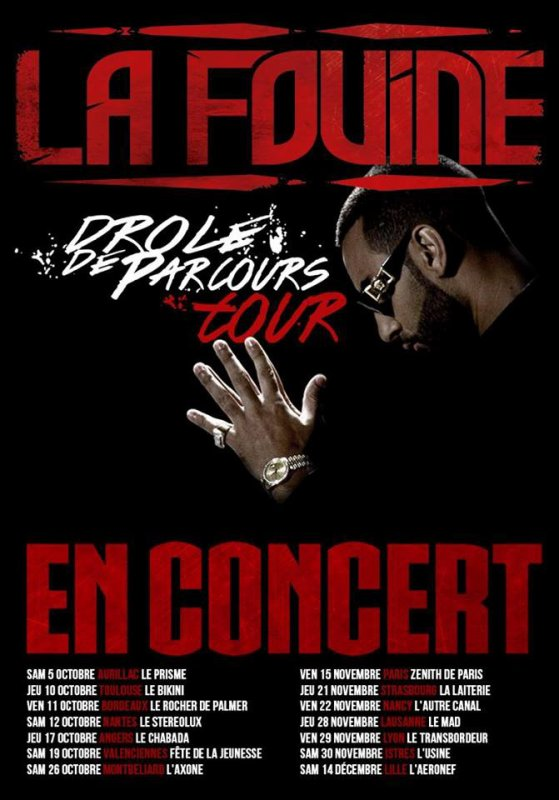 """Voici toutes les dates de concert du """"Drôle de Parcours Tour 2013"""" dans toute la France"""