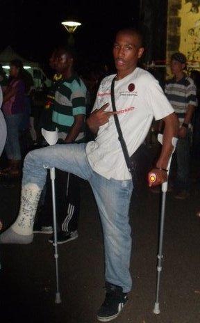 moi ek ma jambe kassé au koncert de youssoufa a la réunion
