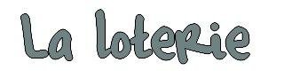 HOGAMES - La loterie.