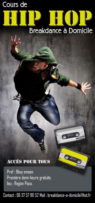 Breakdance à Domicile nouveau concept .
