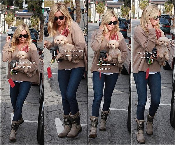 11/04/2012 ▬ Notre grande sportive : Ashley Tisdale , se rendait encore une fois à l'Equinox Gym . Top , bof ou Flop ?
