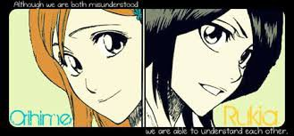 Sondage: Orihime vs Rukia *^*