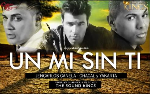 "@jencarlosmusic et autres chansons  ""Un Mi Sin Ti"" hors album avec DJAfrica/DjConds...."