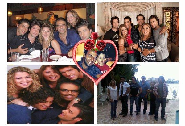 ♥  Our  #CanelitaFamily de  #LaFam LissetteHeriberto, JencarlosNick, Annette, Jason, Erick Canela ♥