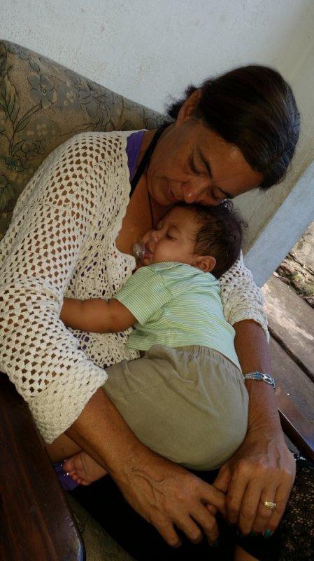 Mon Bébé douce et moi